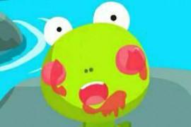 蛤蟆吃西瓜
