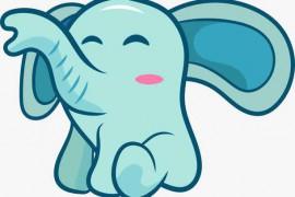 小象的蓝色小手帕