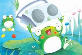 有只青蛙叫咕咕怪
