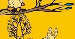幸运兔和黑嘴乌鸦