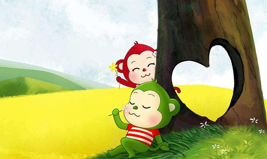 猴子种栗子 益智故事