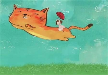 一只想飞的猫 睡前故事