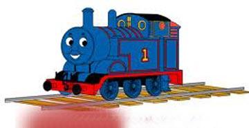 蓝火车上班 幼儿故事