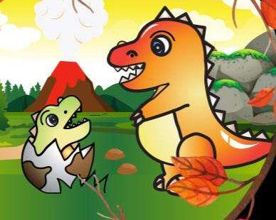 小恐龙找妈妈 幼儿故事