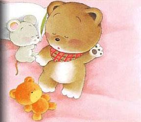 手帕老鼠与小布熊 睡前故事