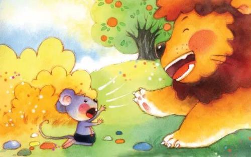 小老鼠的狮子手机 睡前故事